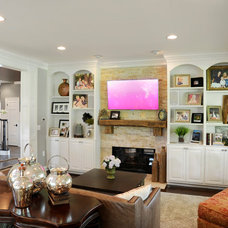 Traditional Family Room by Dave Fox Design Build Remodelers