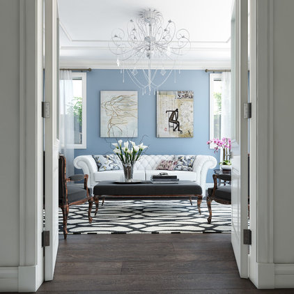 Traditional Family Room by Destination Living