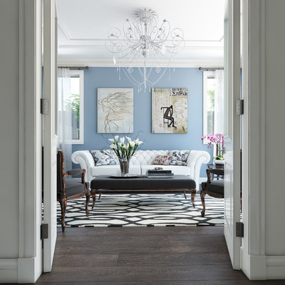 Victorian Family Room by Destination Living