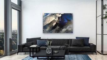 Acrylic Painting-Night Sky