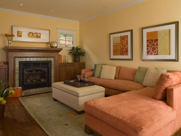 Traditional Family Room by Thomas Saxby Architect