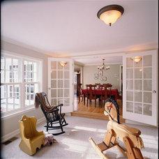 Traditional Family Room by Henderer Design + Build