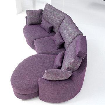 Afrika Modern Modular Sectional Sofa by Famaliving California