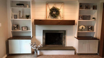 AFTER - Fireplace face lift