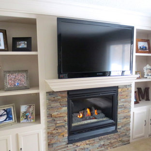After Fireplace Remodel