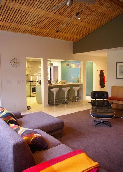 Contemporary Family Room by designpad architecture  - Patrick Perez Architect