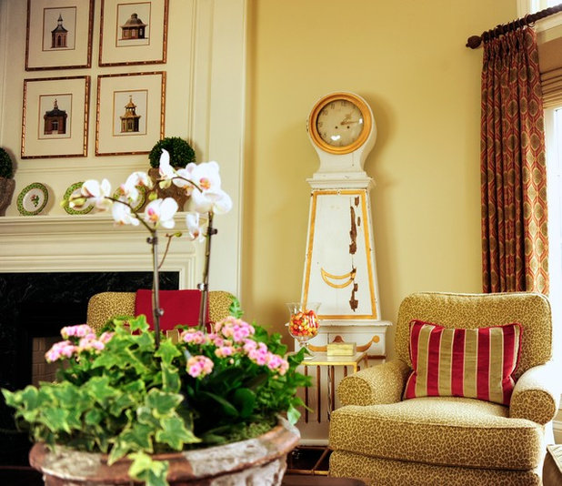 Traditional Family Room by Anne Altizer Interiors LLC