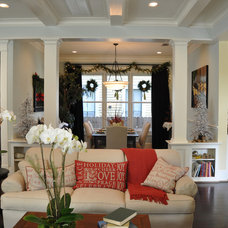 Traditional Family Room by Allegro Builders