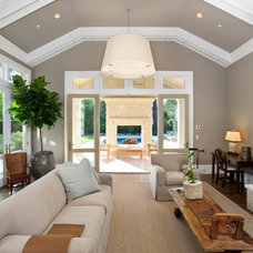 Contemporary Family Room by Pacific Peninsula Group