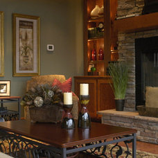Traditional Family Room by Gates Interior Design