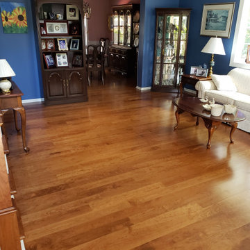 American Cherry hardwood and stairs