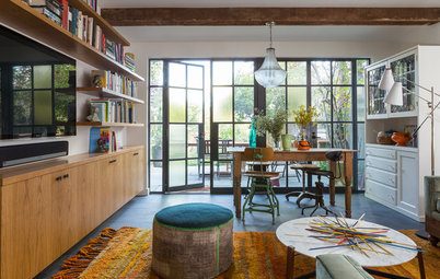 Houzz Tour: Diverse Styles Create an Eclectic Family Home