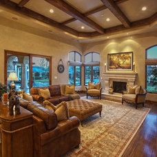 Mediterranean Family Room by Coldwell Banker Previews International