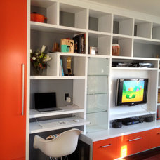 Modern Family Room by Savoy Kitchens By Design