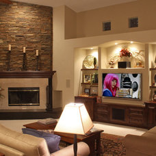 Traditional Family Room by ModaScapes Interior Design