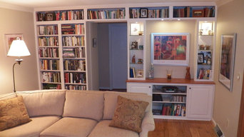 """Anderson Township traditional """"Over the Door"""" Bookcases"""