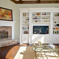 Traditional Family Room by Staging & ReDesign