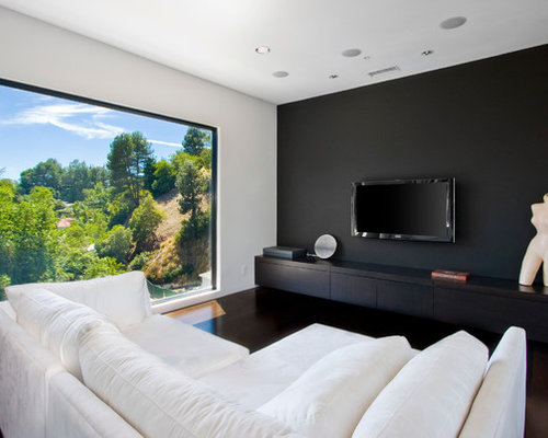 Black Accent Wall Ideas Pictures Remodel And Decor