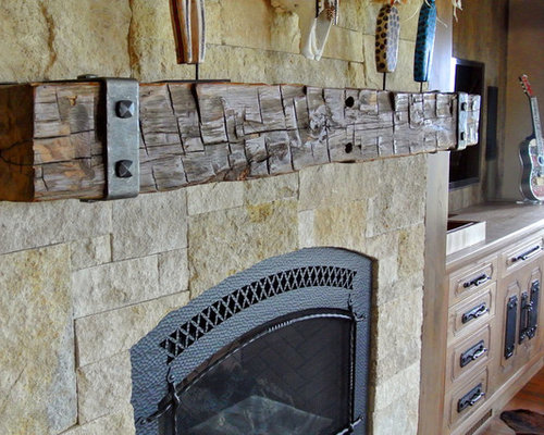 SaveEmail - Mantel Brackets Design Ideas & Remodel Pictures Houzz