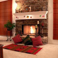 Eclectic Family Room Anu Varma