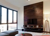 need ideas for accent wall with tv
