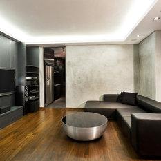 dark wood floor family room. SaveEmail Best 20 Industrial Dark Wood Floor Family Room Ideas  Designs Houzz