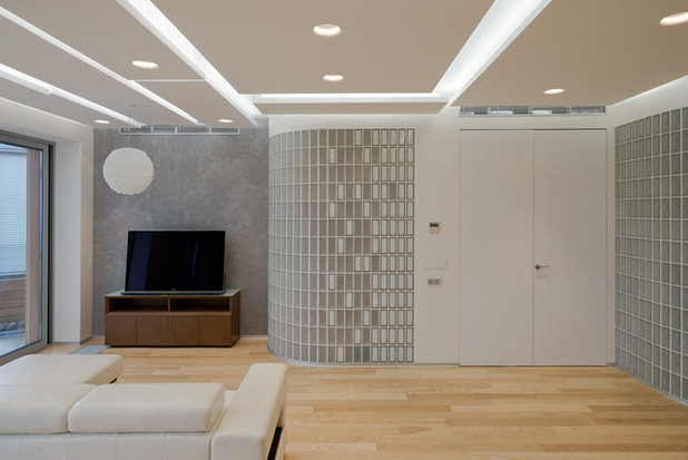 Модернизм Семейная комната by Kerimov Architects