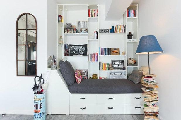 Mensole sopra il letto trendy recuperare lo spazio sopra for Mensole sopra scrivania