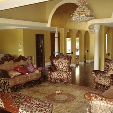 Mediterranean Family Room by JTR  Contractors Inc.