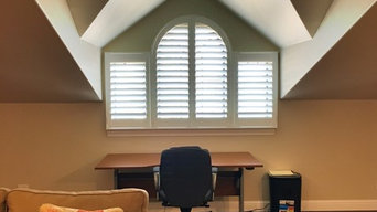 Arched Top Plantation Shutters