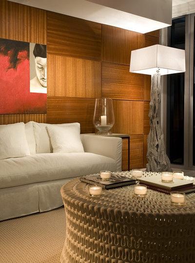 Contemporary Family Room by Craig Denis
