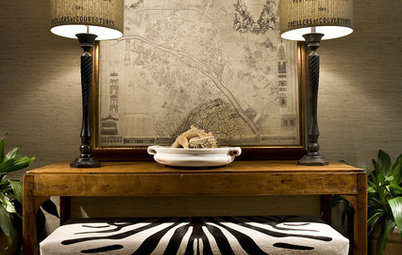 Understated Texture: Grasscloth in the Home