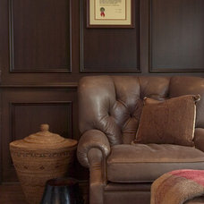 Traditional Family Room by Ed Ritger Photography