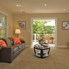 contemporary family room by Ed Ritger Photography