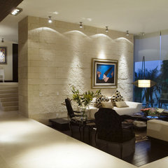 contemporary family room arco arquitectura