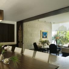 Contemporary Family Room arco arquitectura