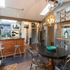 Eclectic Family Room by Calista Chandler Photography