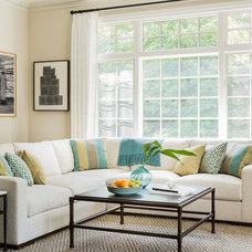 Traditional Family Room by Janine Dowling Design Inc.