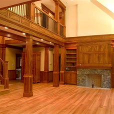 Traditional Family Room by McConnell & Ewing