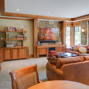 Arts & Crafts Masterpiece - Family Room