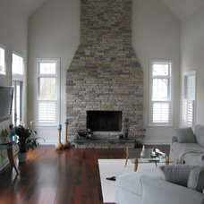 Traditional Family Room by ASAP Blinds