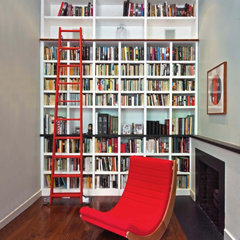 contemporary home office by Ascher Davis Architects, LLP
