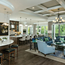 Transitional Family Room by Arthur Rutenberg Homes - Cincinnati, OH