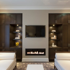 Contemporary Family Room by Ashton Woods