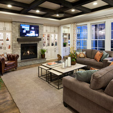 Traditional Family Room by Ashton Woods
