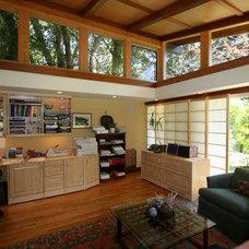 Asian Home Office by Ashford Associates