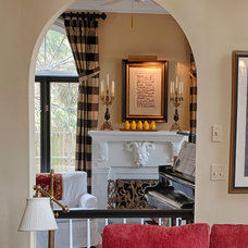 Traditional Family Room by Gina Fitzsimmons ASID