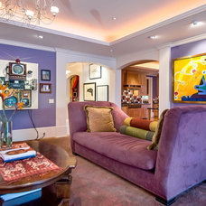 Contemporary Family Room by mark pinkerton  - vi360 photography