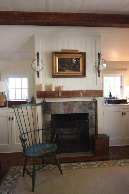 Traditional Family Room by Bradley E Heppner Architecture, LLC