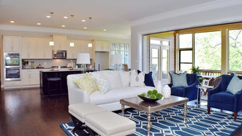 Atlanta Family room and kitchen